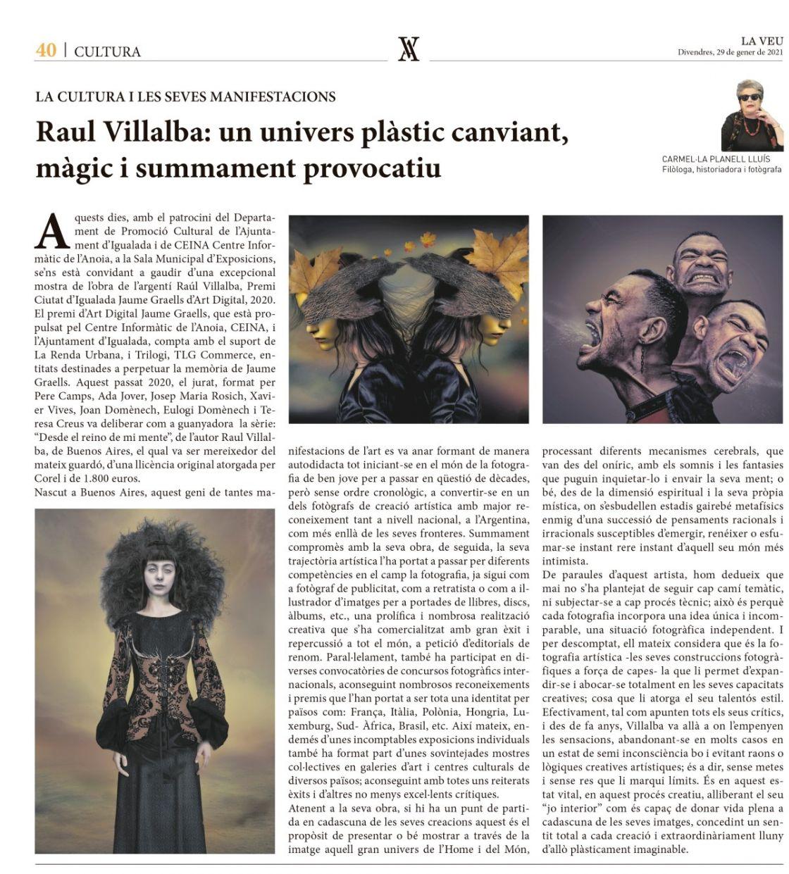 La Veu (29 gener 21)   Premi Web