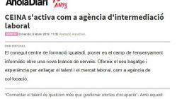 CEINA s'activa com a agència d'intermediació laboral