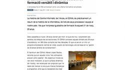 CEINA celebra quasi tres dècades de formació versàtil i dinàmica