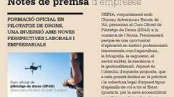 Formació Oficial en PIlotaje de Drons, una inversió amb noves perspectives laborals.