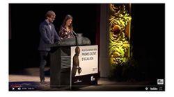 Jaume Farrés i Magí Puig reben el Premi d'Honor Ciutat d'Igualada