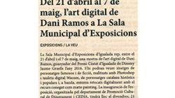 Maig, l'art digital de Dani Ramos a La Sala Municipal d'Exposicions
