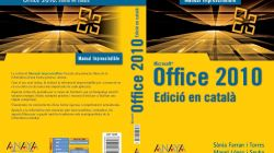 CEINA edita el primer manual en català per a Office 2010