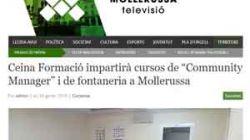 Ceina il'Escola d'Oficisimpartirà cursos deCommunity Manageri Fontaneriaa Mollerussa