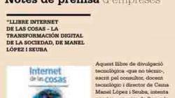 Llibre de Manel López i Seuba / Internet de las cosas.