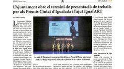 L'Ajuntament d'Igualada i l'empresa Ceina , convoquen el ❝ XXII Premi d'Art Digital Jaume Graells ❞