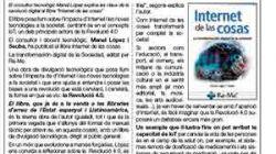 Presentació del Llibre ''INTERNET DE LES COSES, la transformació digital de la societat''