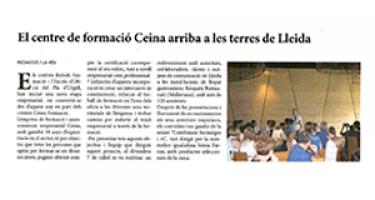 El Centre de formació Ceina arriba a les terres de Lleida