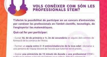 Concurs d'entrevistes en l'àmbit STEM