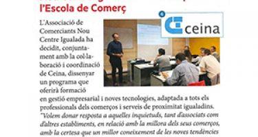 L'Associació Nou Centre Igualada impulsa ''L'Escola de Comerç''