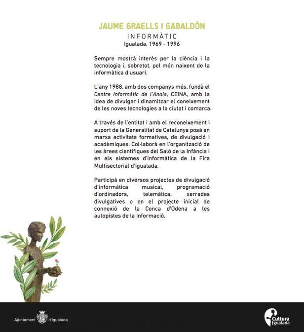 Quién es Jaume Graellsweb