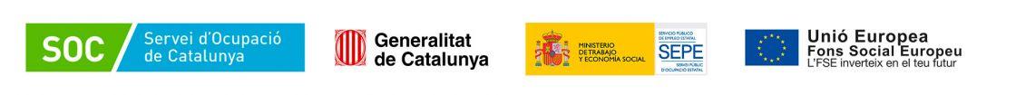 Logotipos entidades subvencionadoras formación ocupacional