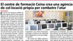 El centro de formación CEINA crea una agencia de colocación propia para combatir el paro