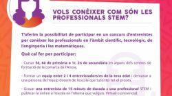 Concurso de entrevistas en el ámbito STEM