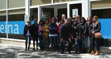 Reunión del equipo administrativo de los Centros CEINA en Cataluña