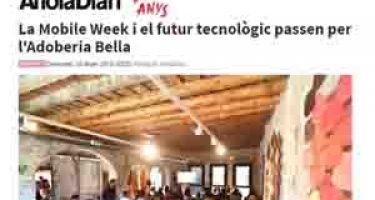 La Mobile Week y el futuro tecnológico pasan por la Tenería Bella