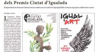 Abierta una nueva convocatoria de los Premios Ciudad de Igualada y las ayudas a Igual'ART