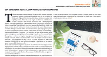 ¿Somos conscientes de la brecha digital entre generaciones?